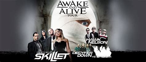 awake and alive awake and alive tour tickets tue oct 13 2009 at 7 00 pm