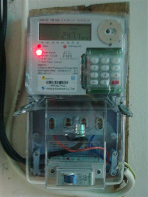 Pasang Meter Elektrik listrik prabayar pln 171 jejak bruang
