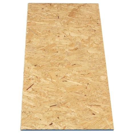 attic pine oriented strand board common 5 8 in x 2 ft