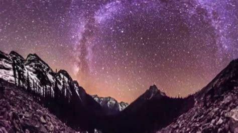 trippy  degree panoramic time lapse  night sky