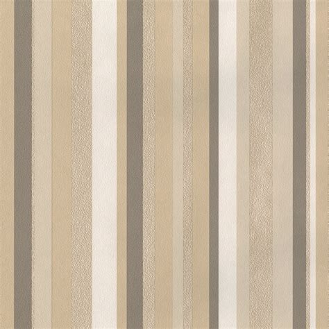 muriva rose stripe beige wallpaper 8m roll next day