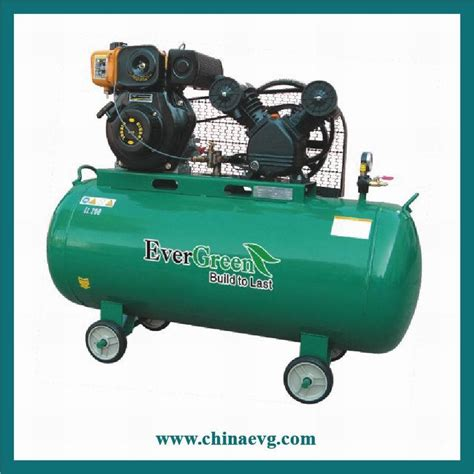 gasoline disel air compressor ev2065cd china air compressor compressor