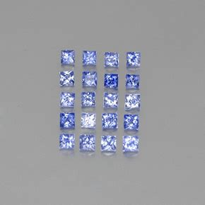 Blue Safir Sapphire 6 4ct blue sapphire 2 4ct square from madagascar gemstones