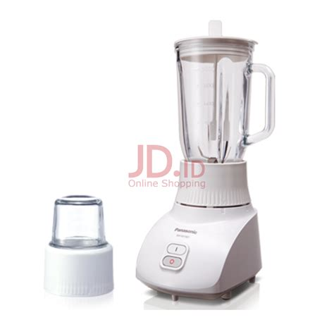 Daftar Mixer Panasonic jual panasonic blender mixer grinder glass 1 3l mx gx1462wsr jd id