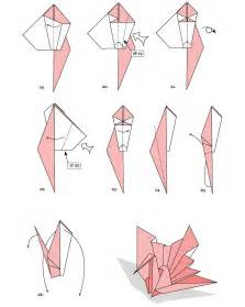Steps To Make A Paper Swan - my favorite image origami papriroflexia