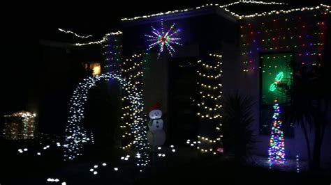 christmas lights in point cook australia 2016 youtube