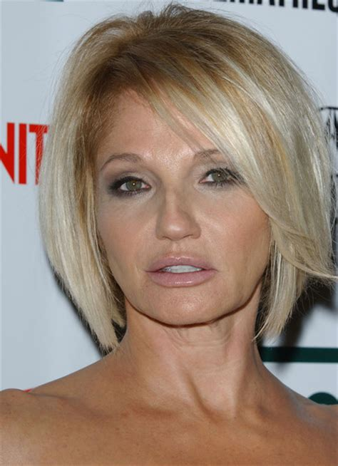 ellen barkin hairstyles ellen barkin hair back view short hairstyle 2013
