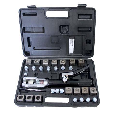steel fuel line flare kit mst 71475 mastercool universal hydraulic flaring tool