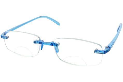computer eyed rimless bifocal reading glasses