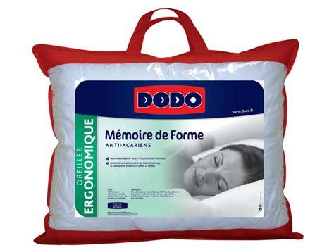 oreillers dodo dodo oreiller 40 x 55 cm dodo comparer les prix et promo