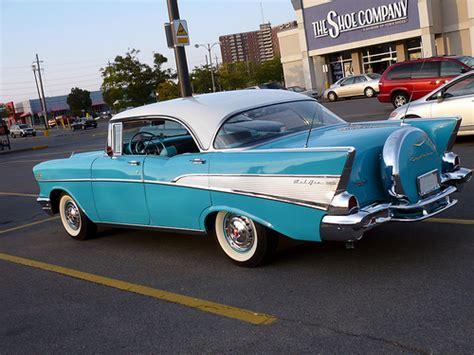 a 57 chevy bel air 4 door sedan flickr photo