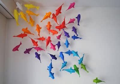 Fish Origami Tutorial - koi fish origami depapercraftblog