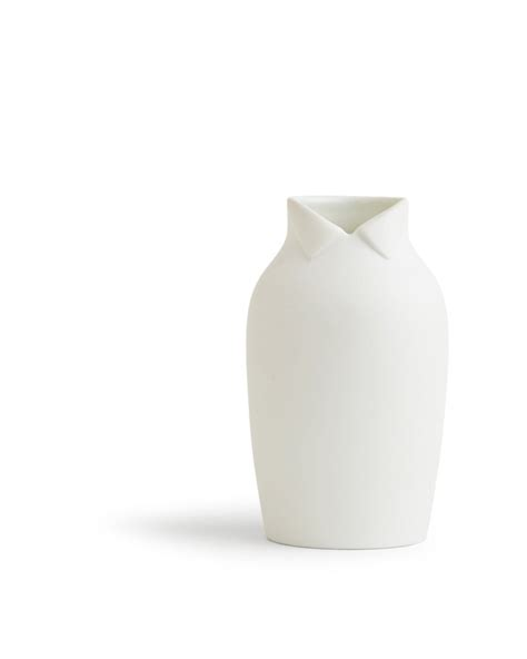 White Large Vase by Dress Up Vase Large White Nalata Nalata
