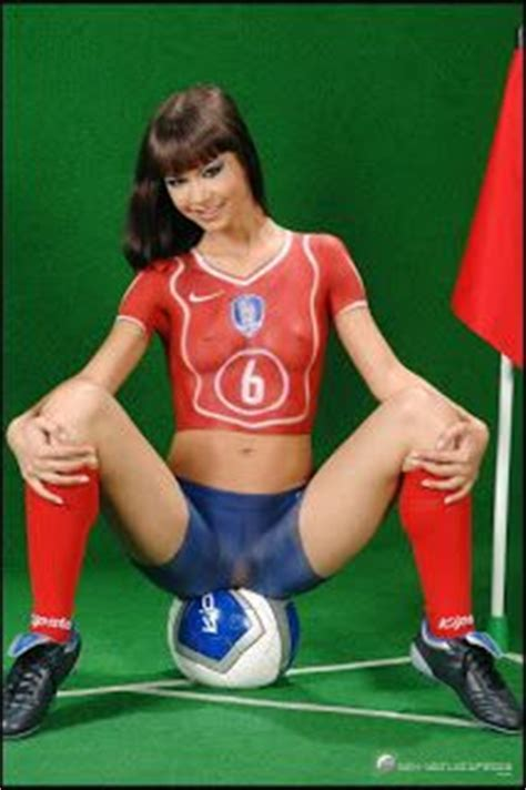 soccer body paint competition new body painting modern body painting soccer balls women