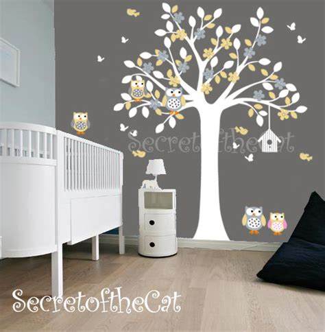 Tree Sticker For Wall ursery wandtattoo wand aufkleber kinderzimmer