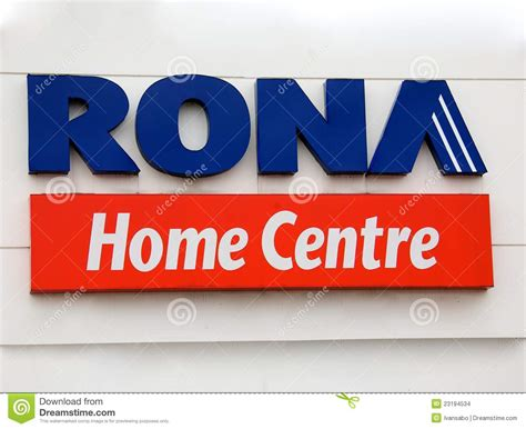 rona home centre editorial stock image image 23194534