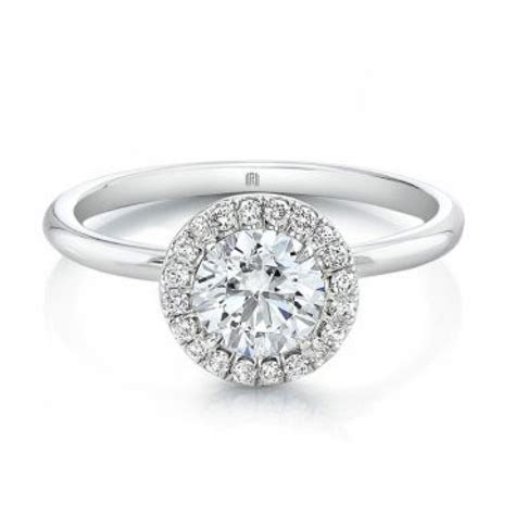 engagement rings with halo forevermark