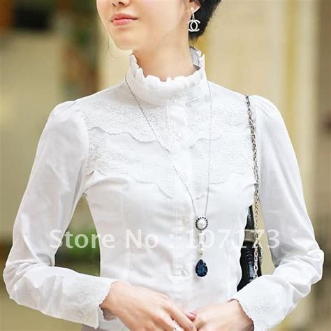 Original Magnificents Collar Listed Sleeve Kemeja White new arrival s 2015 ol slim stand collar laciness 100 cotton sleeve shirt white