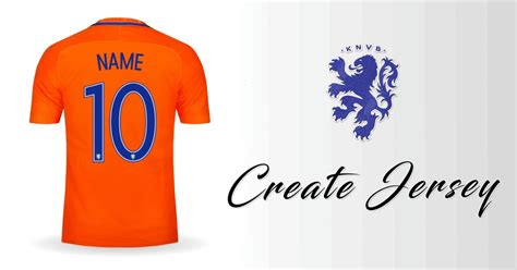 with name create netherlands 2016 soccer jersey with your name and