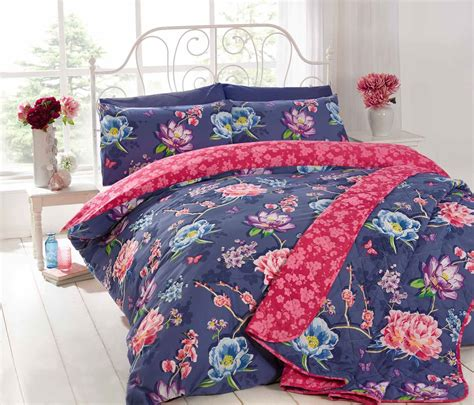 Tatty Teddy Duvet Cover Sapporo Oriental Floral Duvet Covers Quilt Sets Pink