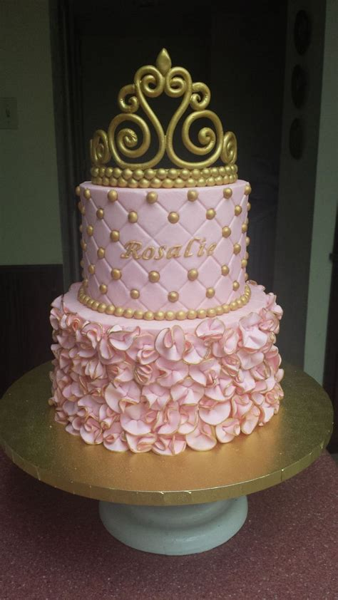 Fondant Baby Shower by Princess Baby Shower Cake On Cake Central Baby