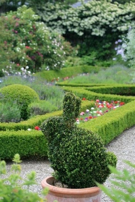 rabbit topiary topiary design in animal shapes