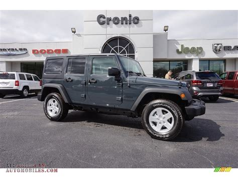 rhino jeep 2016 jeep wrangler unlimited sport 4x4 in rhino 194794
