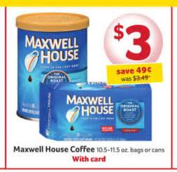 winn dixie maxwell coffee as low as 1 25 with publix
