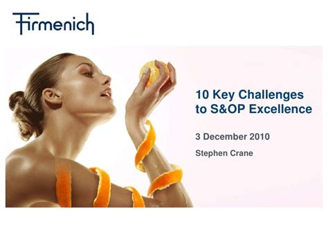 challenge to excellence 10 key challenges to s op excellence