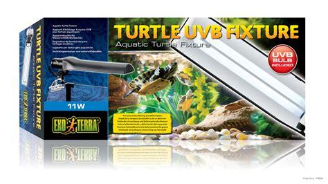 uva uvb light for turtles exo terra turtle uvb l fixture 11w reptile