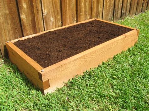 2x4 Planter Box by 2x4 Cedar Raised Garden Bed Gardeninminutes