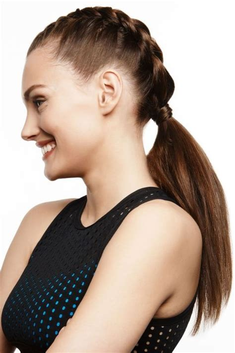 haircuts that still allow a pony tail 17 best images about hairstyle on pinterest fake bangs