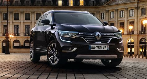 renault koleos 2017 black renault gives koleos an initiale touch