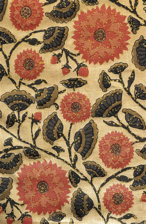 flower pattern upholstery fabric indian flower toile patterns of india pinterest