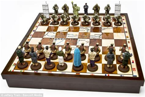 design game of chess bin laden and obama terror chess game is a hit with our
