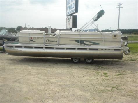 small pontoon boats mn 23 feet 2001 premier sun sation pontoon deck boat for