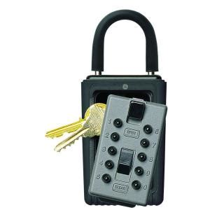 kidde portable 3 key box with pushbutton combination lock