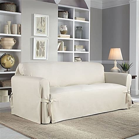 perfect fit sofa covers perfect fit 174 classic relaxed fit sofa slipcover www