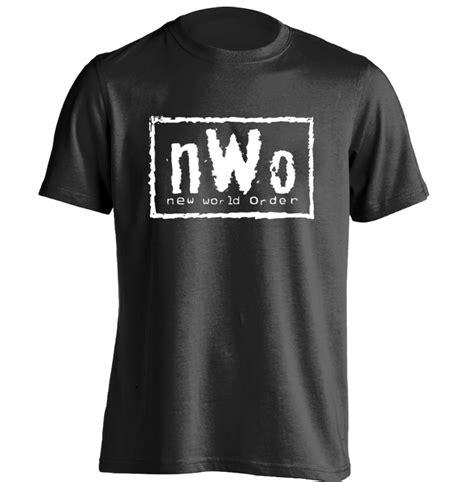 T Shirt Nwo nwo logo new world order mens womens retro t shirt