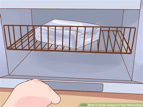 Dishwasher Lasagna It Or It by How To Cook Lasagna In Your Dishwasher 13 Steps With