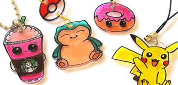 What Can You Make In A Toaster Oven Diy Plastic Shrink Charm And Art Draw So Cute