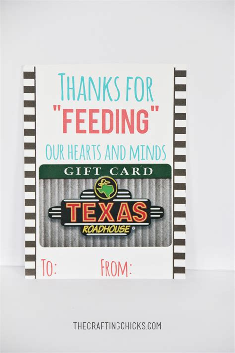 printable restaurant gift cards teacher restaurant gift idea and printable the crafting