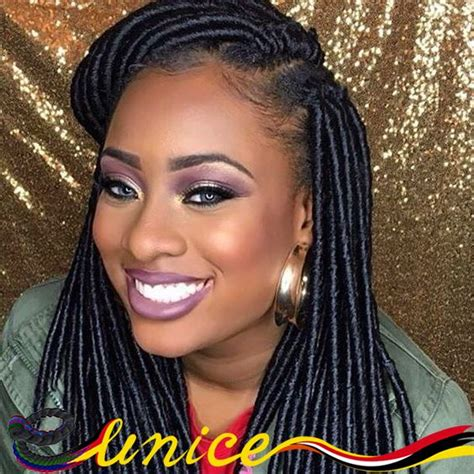 Faux Dreads On Short African American Hair | african american braids 14 synthetic dreadlocks sexy faux