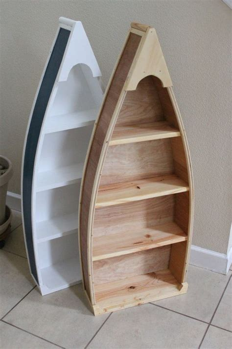 free row boat bookshelf plans woodworking projects plans