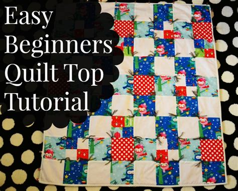 easy beginner quilt top tutorial mostly simple simon and