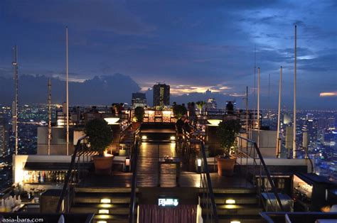 roof top bar in bangkok moon bar rooftop at banyan tree bangkok spectacular