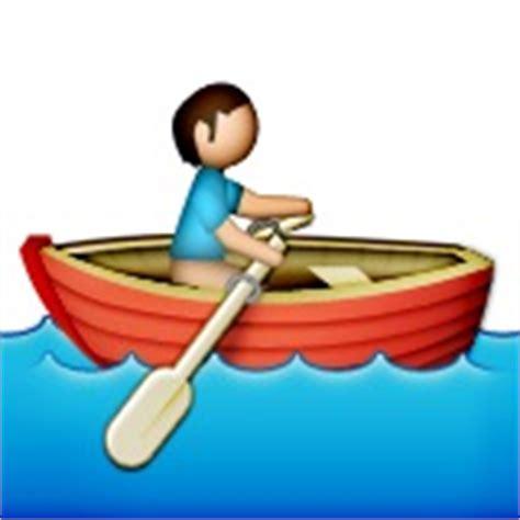 zeilboot emoji person rowing boat emoji