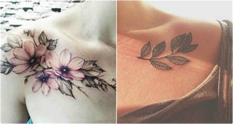 tattoo flower collarbone how to make the most of a collarbone tattoo design