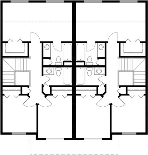2 story duplex floor plans mirrored duplex house plans 2 story duplex house plans