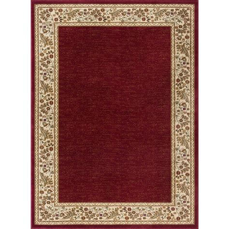 Area Rug 8x11 Tayse Rugs Sensation 7 Ft 10 In X 10 Ft 3 In Traditional Area Rug 4740 8x11 The